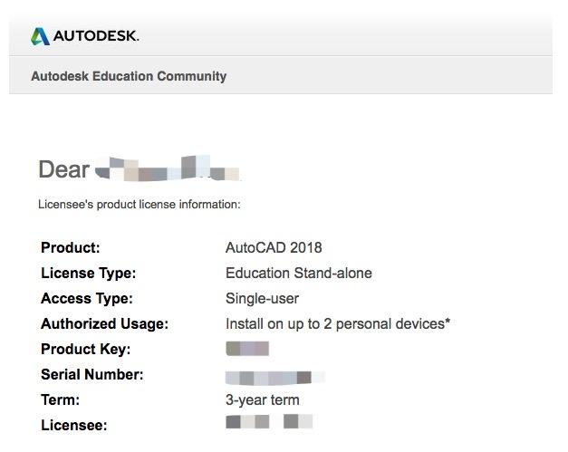 免费获取AutoCAD三年授权
