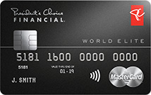 加拿大无年费WEMC系列 之 President's Choice World Elite MasterCard