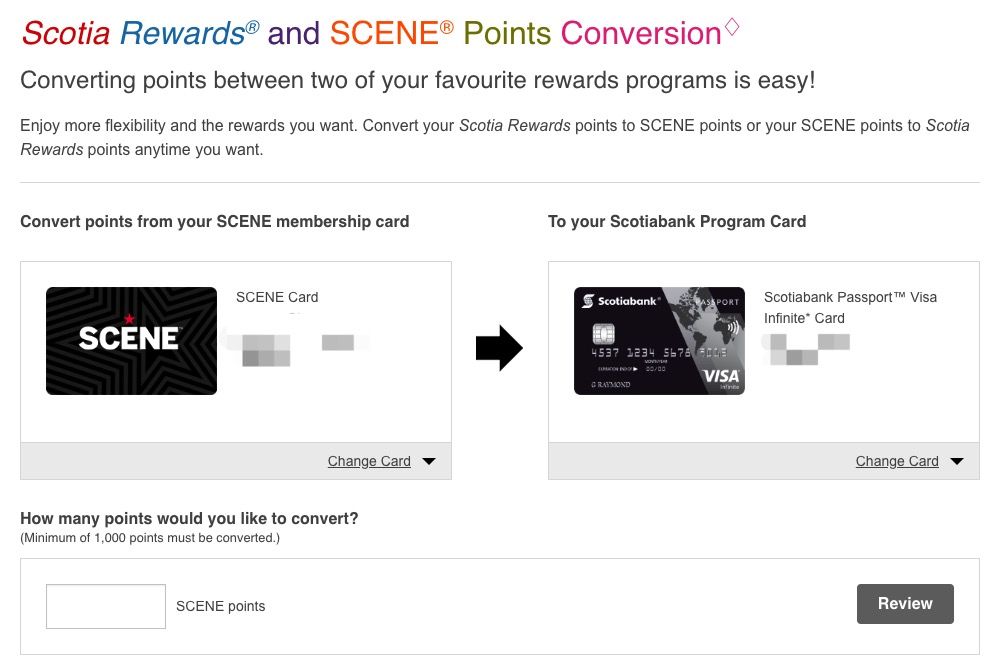 Scotia Rewards积分项目介绍及玩法建议