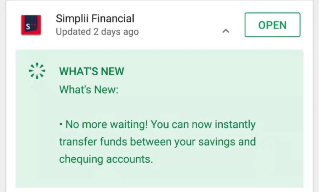 Simplii Financial,日常支票账户新选择