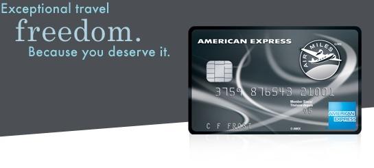 为什么要申请一张AmEx Air Miles系列信用卡