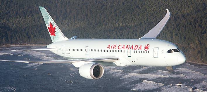 Air Canada官网现可使用微信支付宝订票