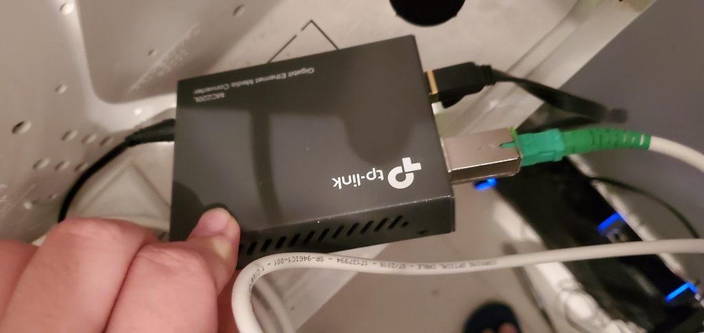 Bell Fibre路由器替换DIY